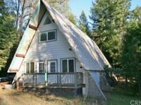 SELLER MAY FINANCE: Newly completed! Lovely A-Frame