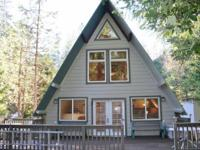Newly completed! Lovely A-Frame home at Lake Madrone