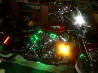 Motorcycle accent lighting kits, colors available