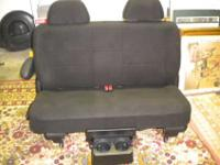 For sale brand new Bench Seat - black cloth. Slide