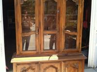 Hello,We are selling our Ethan Allen China Cabinet