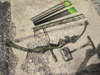 Its an old bow but it would be good for a beginner or
