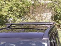 Sport-Utility Bars mount to the original equipment Roof