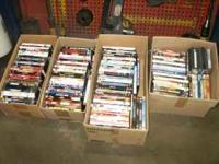 I have for sale about 100 dvd movies. Various titles.