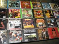 100% original CD covers and cds... .rap, r&b, rock n