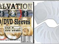 100 Paper CD DVD Sleeves, CD Instances, DVD Cases by