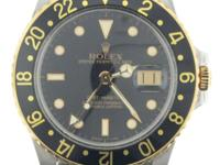 Type:WatchesRolex GMT Master Men'sStainless & 18K