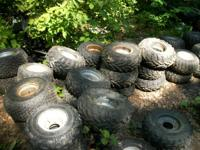 100's of atv utv atc wheelers and tires $20 each. we