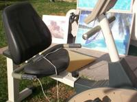2 Stationary bicycle FOR SALE with LCD console monitor