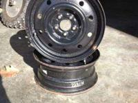 4 Subaru Steel 15x6 rims which I believe are off of a
