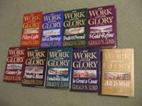 The Work and the Glory Collection of hard back books