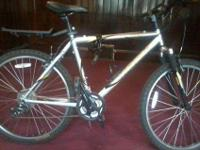 I have a 1 yr old, Trek 820 mountain bike for sale. I