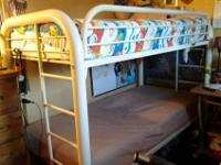 I am selling a beautiful twin sized bunk bed in great