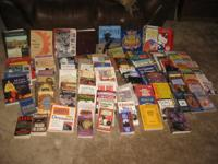 I have 100 used books for sale. There are aprox. 10 tex