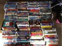 Selling a lot of VHS movies. Too many to list by name.
