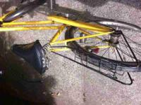 I am selling my yellow vintage dutch bike. It comes