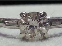 100 year old 3/4 carat European Estate Diamond
