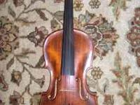 100 year old 7/8 German Violin for sale. Uses full size
