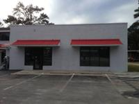Lease just $1000/mo NNN. Great 1200 sq ft commercial