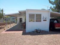 Well-kept 2 bed room, 1 bath singlewide home with