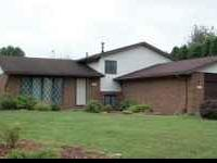 3 bedroom ranch for rent in Dover,OH. House also has 3