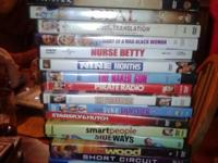 DVD'S AT A GREAT PRICE  3. EACH OR 5 FOR 12.  COMEDY,