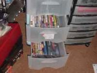1000's of DVD's CD's & LP's 45's for sale Prices are