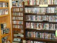 1000s of DVDs, all in mint condition, money back