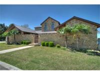 Breathtaking views on Lake LBJ await you in this