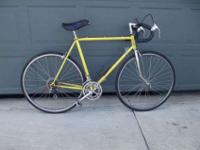12 speed road bike, i used it to ride to my drivers ed