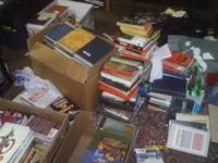 Lots of books old and new Call Jackie At  Prices very