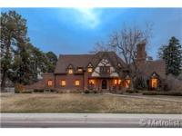 Classic Tudor in prime Hilltop area. 2 stories, 5 beds,