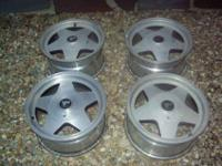 I HAVE 2 COMPLETE SETS (4) OF RIMS FOR SALE 16""