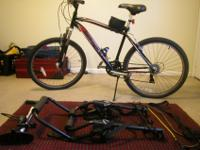 $100 for bike and accessories.Up for sale is a used