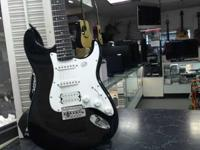 Squier Bullet Strat with Tremolo BlackA solid starter