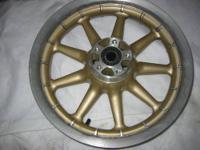 100th Anniversary 9 spoke wheels. Special 100th