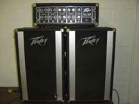 100 watt, 4 channel high impedance, makes good guitar