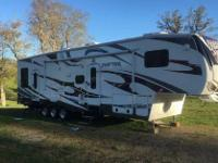2011 Keystone Raptor 361, 2011 raptor toy hauler in