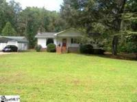 Looking for Land, this home has five acres w/workshop.