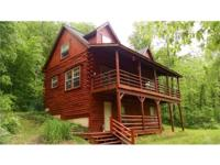 Handcrafted Log Cabin, 11 acres, woods, well, septic,