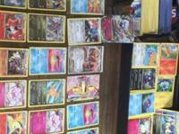 This listing is for 1059 Pokemon cards that have been