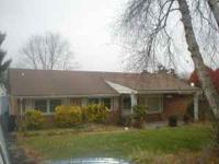 Spacious brick ranch with large level lot, 11 rooms