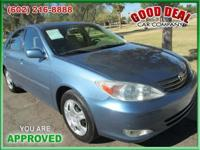 Utilized 2004 Toyota Camry XLE Drive Today! Stk Number: