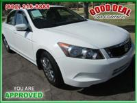 Used 2008 Honda Accord LX You Are Approved! Stk #: