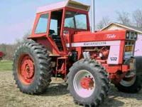 1973 International 1066 Tractor 4WD Turbo 125 HP Cab