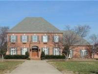 Amazing all brick custom estate home on 1.5 ac. 9 ft