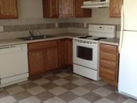 AVAILABLE NOW!  NEW PAINT AND CARPETING !!  3 bedroom/2