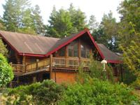 Luxury log home. 4 bd/3ba with 3000+ sq. ft. Striking