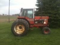 i havea international 1086for sale it has 7500hrs. The