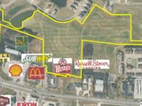 This 25.25 acres of prime real estate is located at the